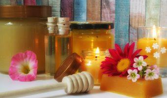 Hechizo vela roja miel y azucar